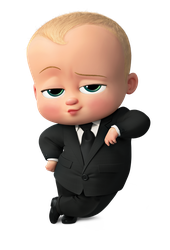 Boss Baby poses by kaylor2013