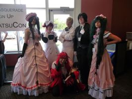 Black Butler group cosplay by ShiyoriPhantomhive