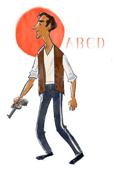 Abed a la Han Solo by aberry89