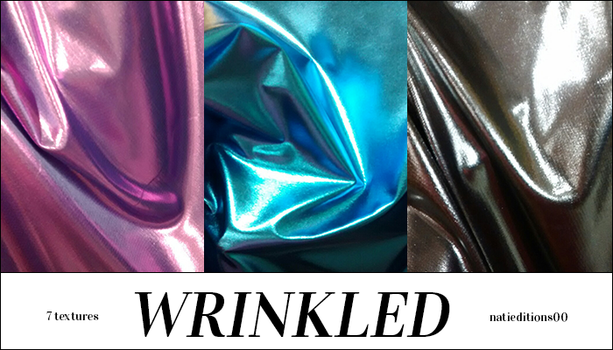+ Wrinkled (7Textures) by natieditions00