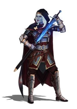 Drow commission by DiegoVila