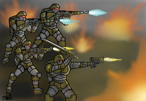 Fire Squad by ChromeFlames