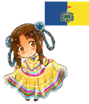 Hetalia Mexico: Jalisco Regional Dress by Spirit-Okami
