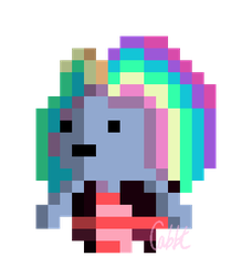 Su Bismuth Sprite by Cabbt