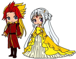 The High Priest and his Princess by shionsstlc1989