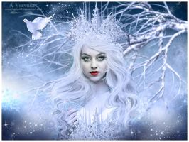 The ice queen by annemaria48