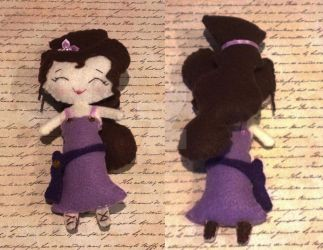 Greek Princess Handmade Felt Doll by ultimateduofan