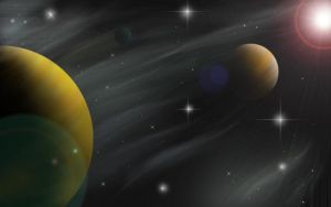 Planets by neethea