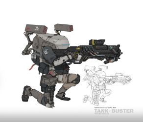 Tank Buster by NOMANSNODEAD