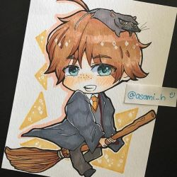 Ron Weasley by asami-h