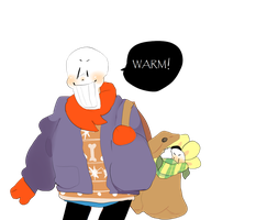 toriel knitted him a sweater by kittensurgery