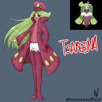 Tsareena (Gijinka) by Meloewe