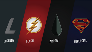 DCEU The CW TV Shows Wallpaper Pack by GodsNotDead88123