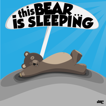 Sleeping Bear by TommySoap
