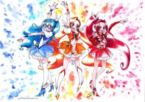 MahoCatch Precure! by Pinceau-Arc-en-Ciel