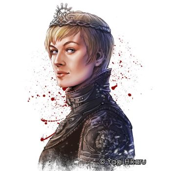 Cersei Lannister/ The Queen of the Seven Kingdoms by yagihikaru