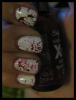 DEXTER nails by xstdx