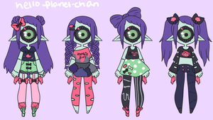 [outfit set] - DreamingErrors by hello-planet-chan
