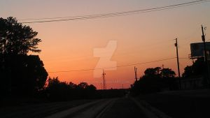 Texas Country Sunset 2.1 by KeiichiM