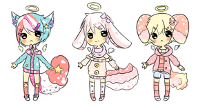 (CLOSED) 9, 10 and 11 Advent Adopts by Sammy-Shota-Prince