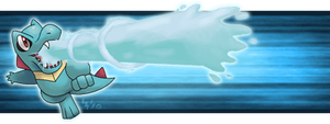 Totodile Banner