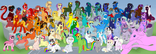 Rainbow Giveaway 2018 by MythPony