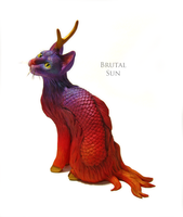 The Qilin by brutalsunstudio