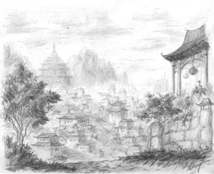 The old Kashgar City by Osokin