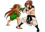 OC Commission: Clairissiana and Lyle Sparring