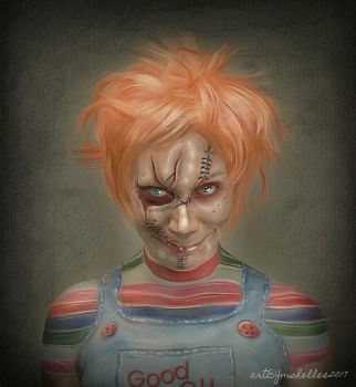 Chucky Portrait by mshellee