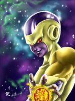 Golden Frieza Revival of F by gscratcher