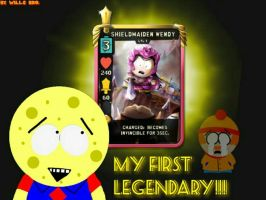 [WB]: MY FIRST LEGENDARY!!!  by Spongecat1