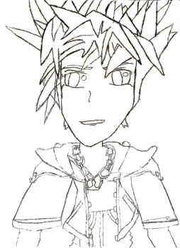 sora Sketch by Trable-h