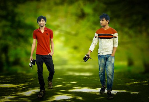 istie iftear with nirjib mehedi best friends by eftherhossain