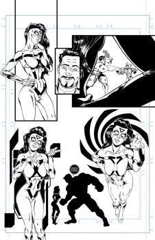 Avengers Assemble #9 tryout page 10 B by 122476