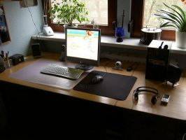 my workplace by elodrin