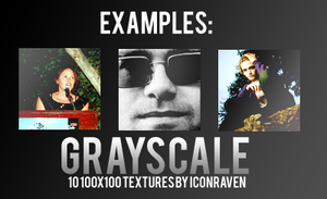 Grayscale textures by iconxraven