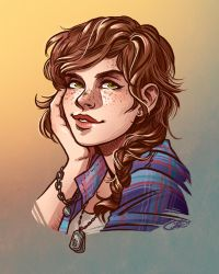 Fallon by CrystalCurtisArt