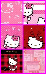 Hello Kitty Pattern Set 4 by kvaughnp3