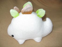 Petite Stego Sprout - Snow Sprout by NekoNaoko