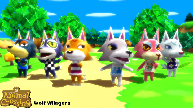 (MMD Model) Wolf Villagers Download by SAB64