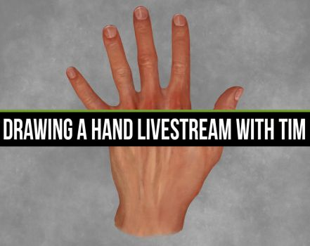 Hand Livestream FINISHED by CGCookie