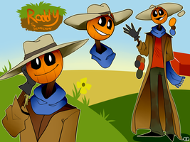 |Ref| Roddy the Scarecrow by Sk4nda