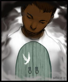 a knock on the door by donnybrasko