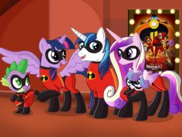 Sparkle Incredibles by JustSomePainter11