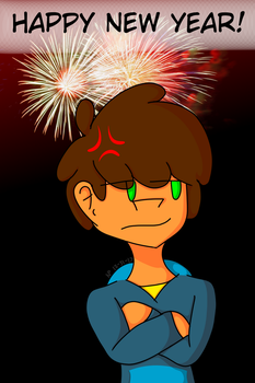 Happy New Year  by AsthenticCartoona