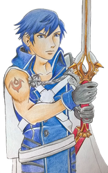 FE Challenge: Chrom by X-Tidus-kisses