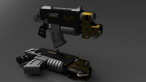 Warhammer 40K Combi-Flamer by ClaireGrube