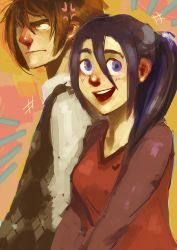 Billy and Raven by Spikie