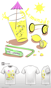 Lemonade inspired T-Shirt by vAonom